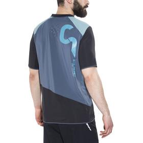 Cube AM Fietsshirt korte mouwen Heren grijs/zwart